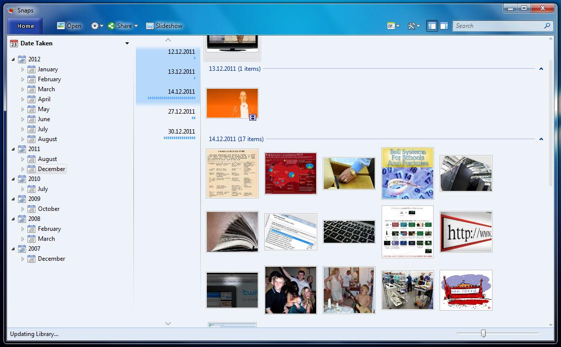 Snaps - менеджер изображений с поддержкой гео-тегов, редактированием мета-данных и публикацией в интернете (7)