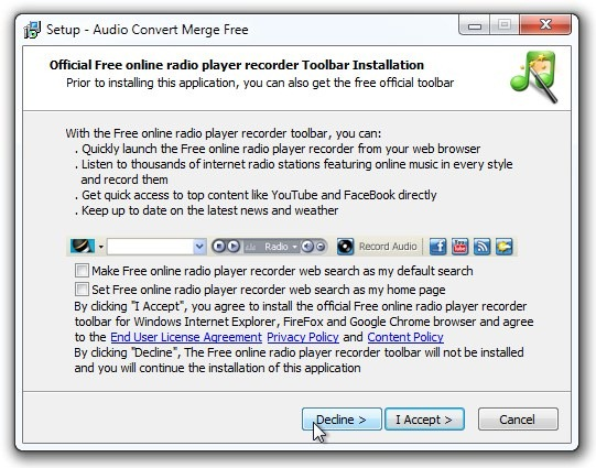 Audio Convert Merge Free - бесплатная программа для конвертации и слияния аудио файлов (1)