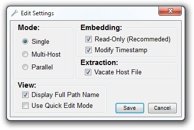 DeEgger Embedder - программа для шифрования файлов внутри изображений (2)