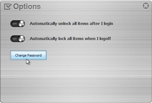 Folder Lock - программа, закрывающая папки паролем (2)