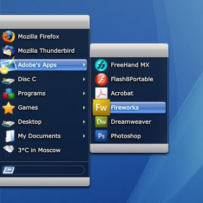 RunMe - альтернативное меню для избранных программ (8)