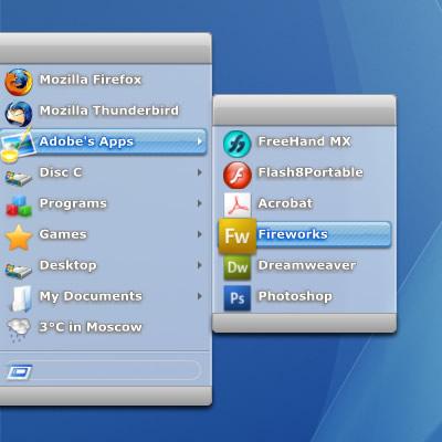 RunMe - альтернативное меню для избранных программ (9)