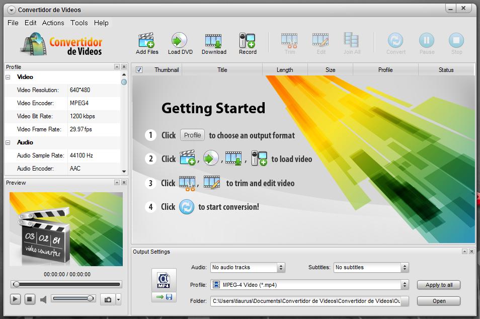 Convertidor de Videos - универсальный видео конвертер с загрузкой из интернета (3)