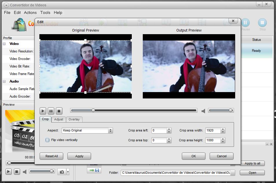 Convertidor de Videos - универсальный видео конвертер с загрузкой из интернета (1)