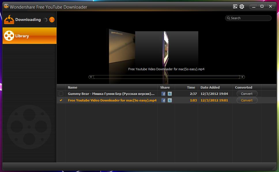 Wondershare Free YouTube Downloader - программа для удобного скачивания видео из YouTube в HD-качестве (1)