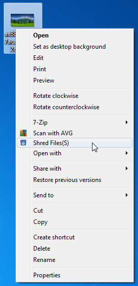 Super File Shredder - утилита для безвозвратного удаления файлов (4)