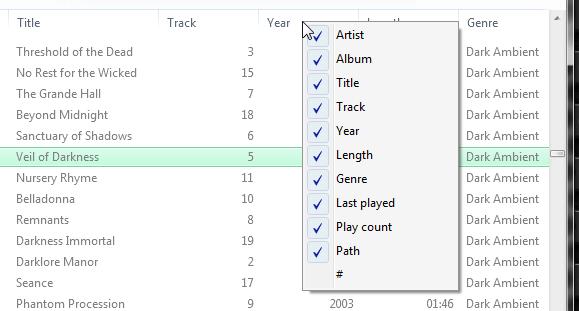 Stoffi Music Player - минималистичный музыкальный плеер в стиле Проводника Windows (7)