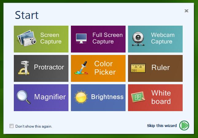 Free Screenshot Capture - удобная утилита для создания скриншотов и снимков с веб-камеры (10)