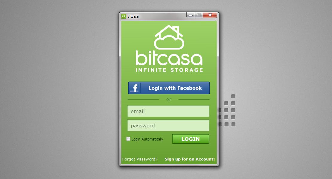 Bitcasa - облачное хранилище для ваших файлов (12)
