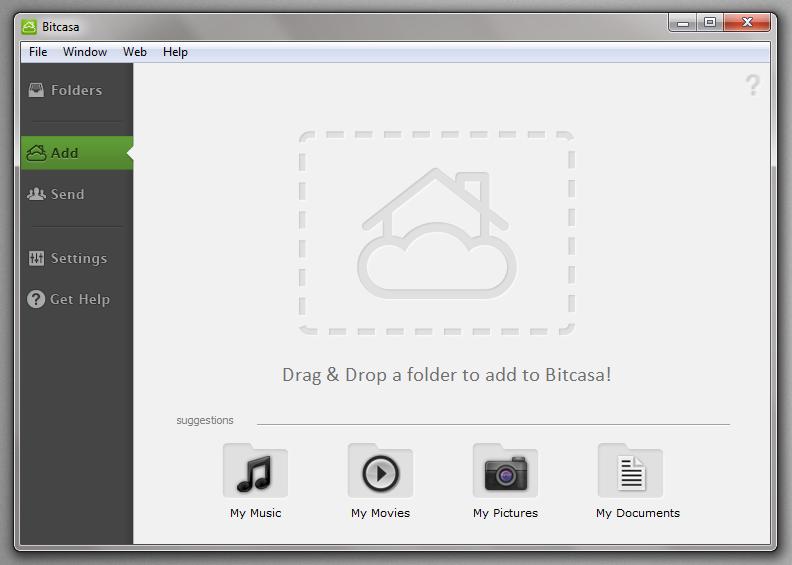 Bitcasa - облачное хранилище для ваших файлов (8)