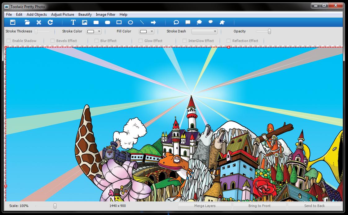 Toolwiz Pretty Photo - удобный редактор фотографий со множеством встроенных фильтров и эффектов (6)