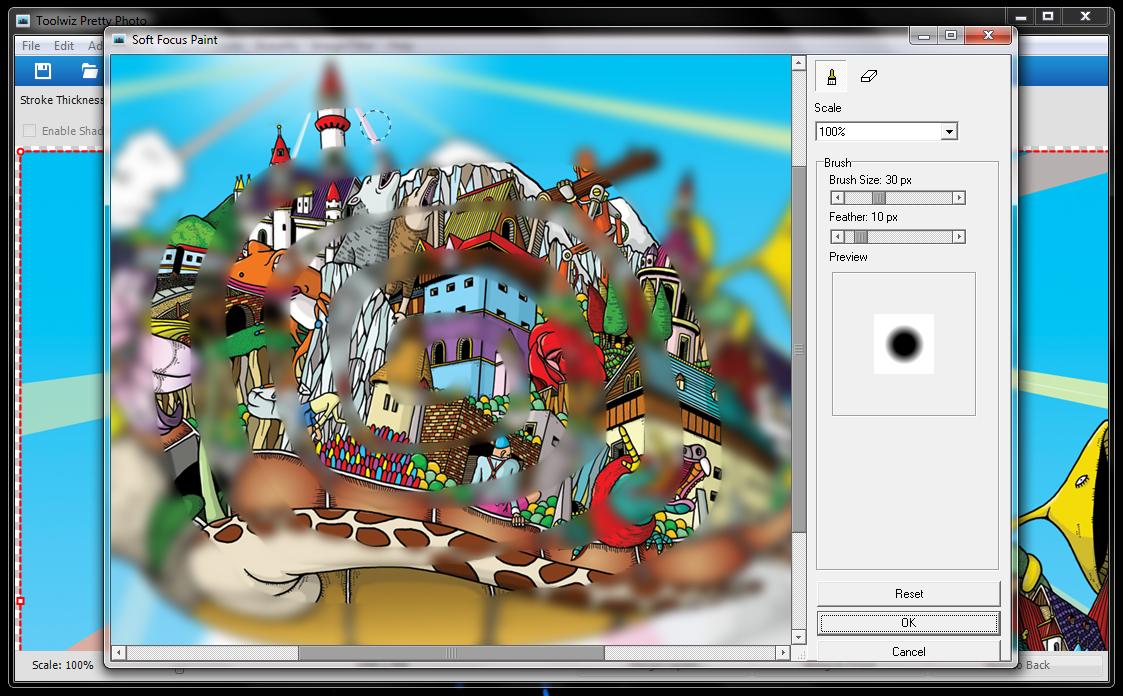 Toolwiz Pretty Photo - удобный редактор фотографий со множеством встроенных фильтров и эффектов (5)