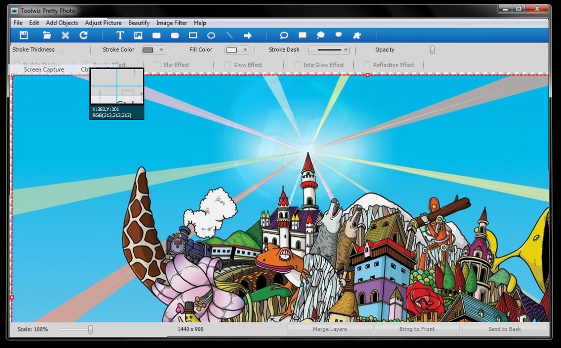 Toolwiz Pretty Photo - удобный редактор фотографий со множеством встроенных фильтров и эффектов (1)