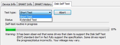 DiskCheckup - программа для проверки жестких дисков и отображения информации об их состоянии (2)