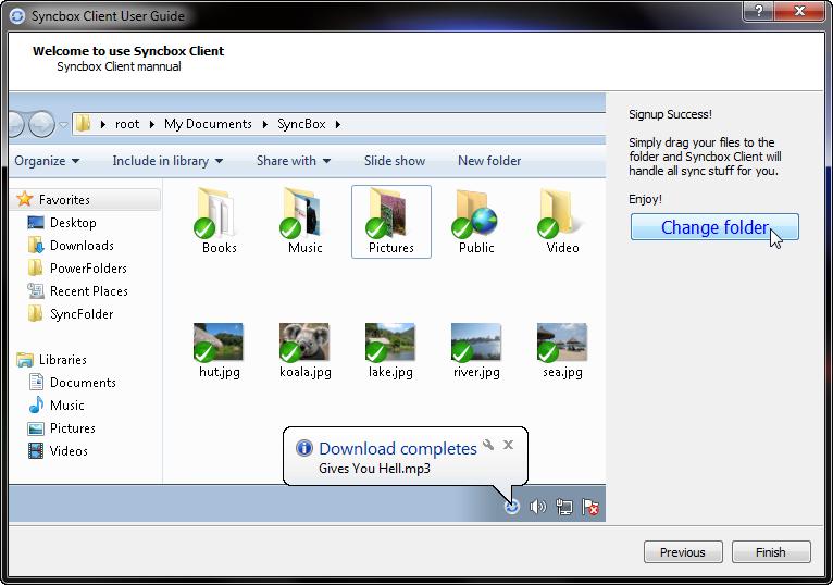 Syncbox - программа для создания облачного сервера из своего компьютера для хранения и синхронизации файлов между компьютерами через интернет (11)