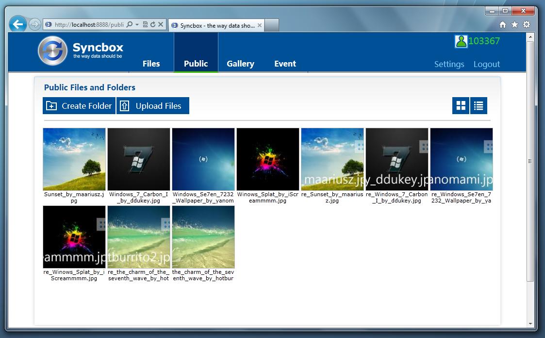 Syncbox - программа для создания облачного сервера из своего компьютера для хранения и синхронизации файлов между компьютерами через интернет (6)