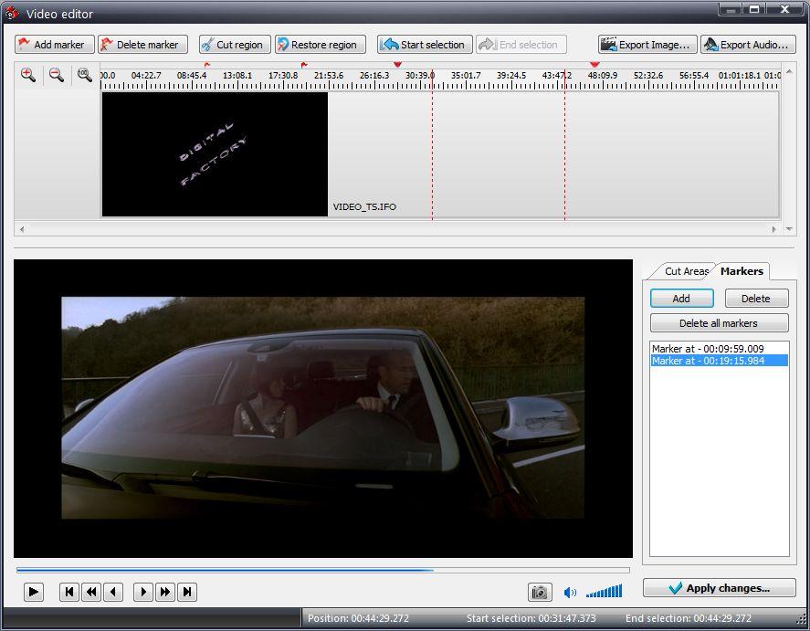 VSDC Free Video Converter - удобная программа для конвертирования видео для последующего воспроизведения в разрешении HD (3)
