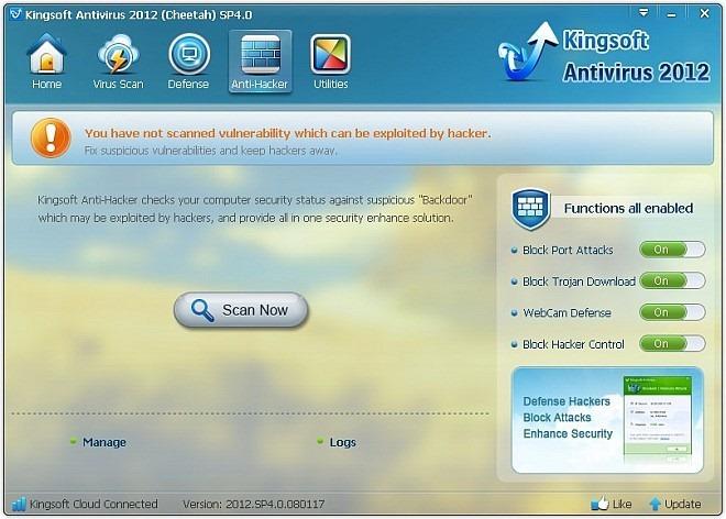 Kingsoft Antivirus - удобный и безопасный антивирус для домашнего использования (3)