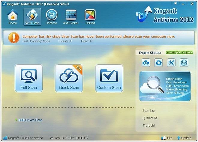 Kingsoft Antivirus - удобный и безопасный антивирус для домашнего использования (1)