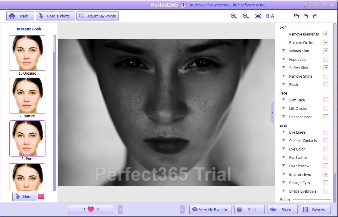 Perfect365 - мейкап для ваших фотографий (2)