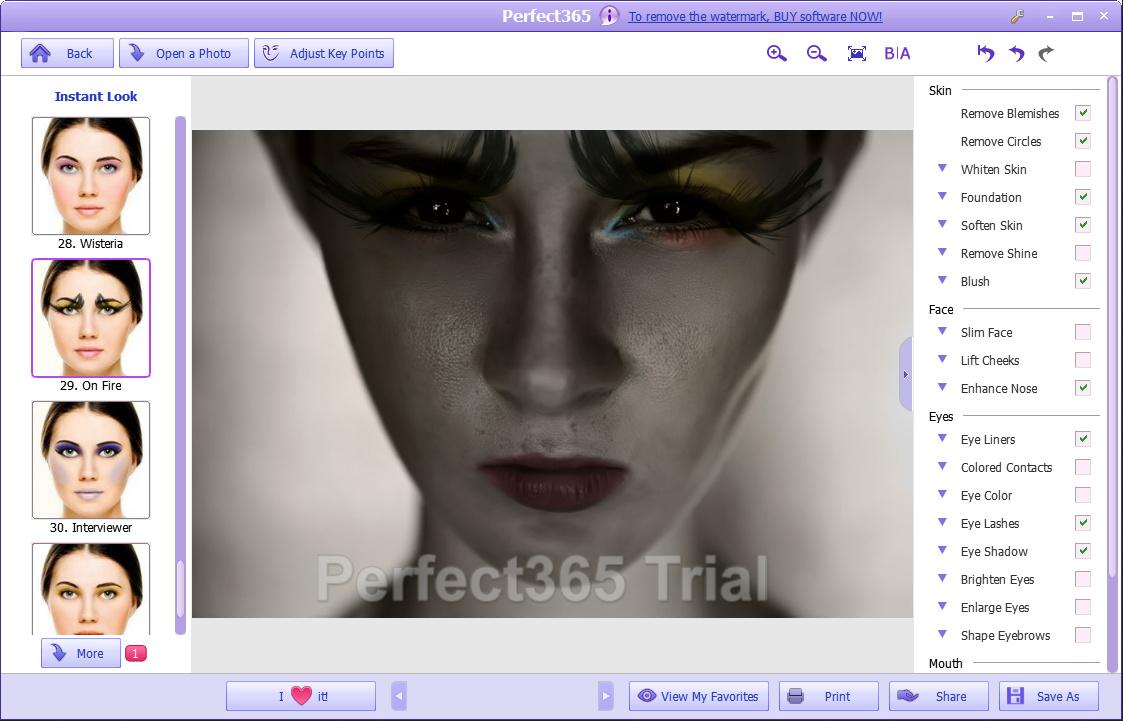 Perfect365 - мейкап для ваших фотографий (1)