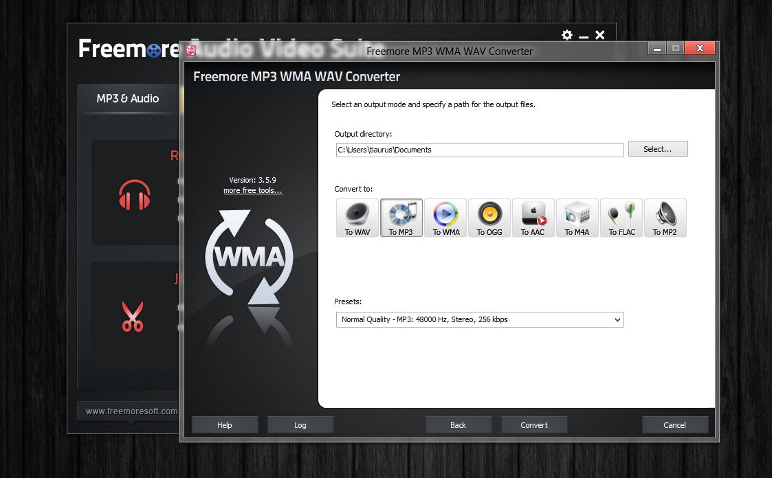 Freemore Audio Video Suite - универсальная программная сюита для обработки мультимедийных файлов (6)