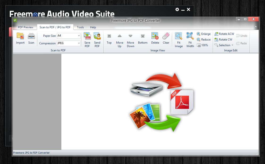 Freemore Audio Video Suite - универсальная программная сюита для обработки мультимедийных файлов (3)