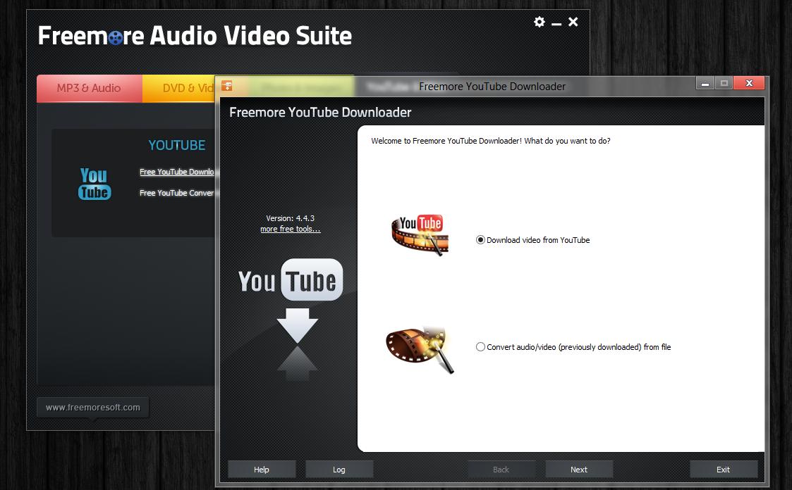 Freemore Audio Video Suite - универсальная программная сюита для обработки мультимедийных файлов (1)