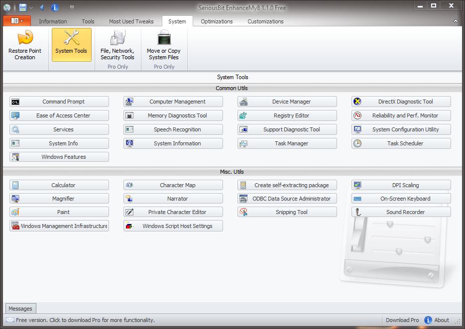 EnhanceMy8 - универсальный твикер для Windows 8 (4)