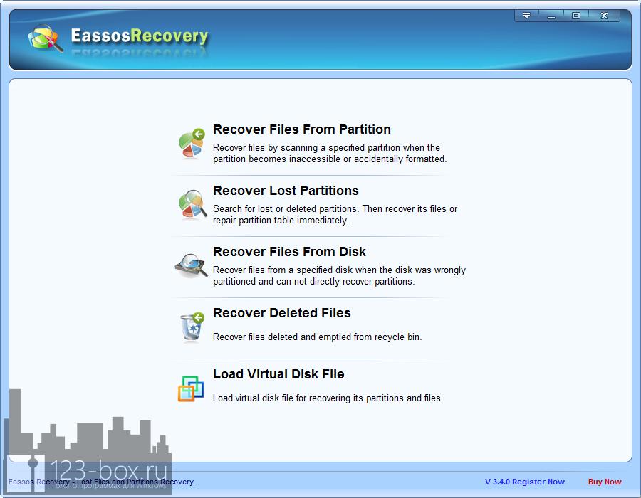 Eassos Recovery - удобная программа для восстановления случайно удаленных файлов (3)