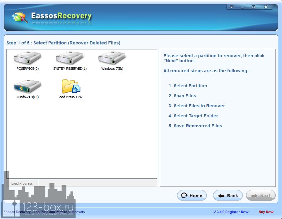 Eassos Recovery - удобная программа для восстановления случайно удаленных файлов (2)
