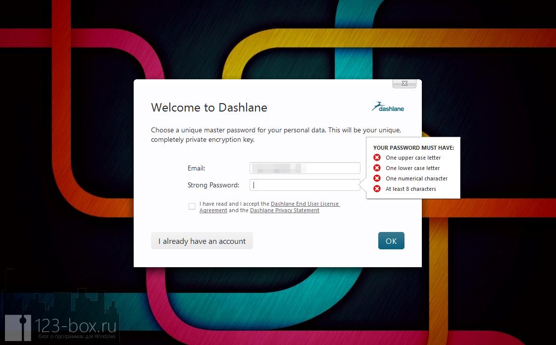 Dashlane - удобный менеджер паролей с автозаполнением (12)