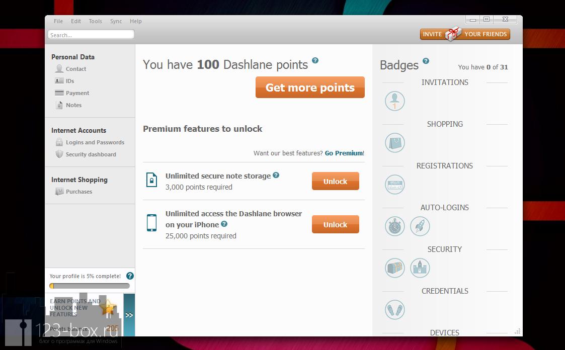 Dashlane - удобный менеджер паролей с автозаполнением (9)