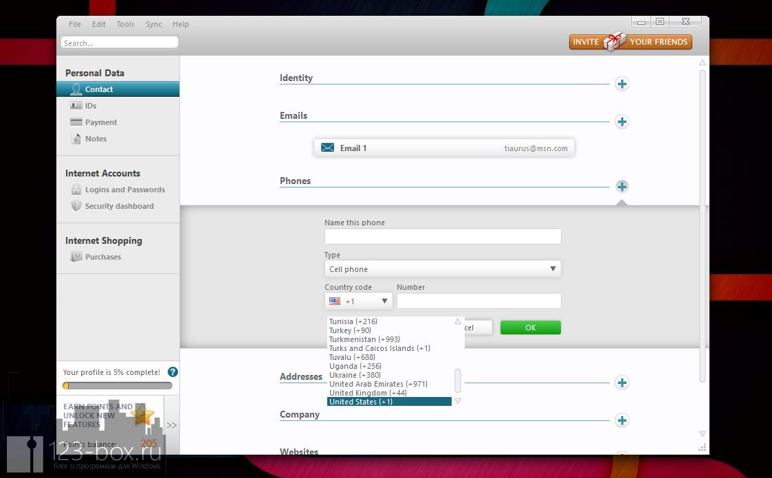 Dashlane - удобный менеджер паролей с автозаполнением (3)