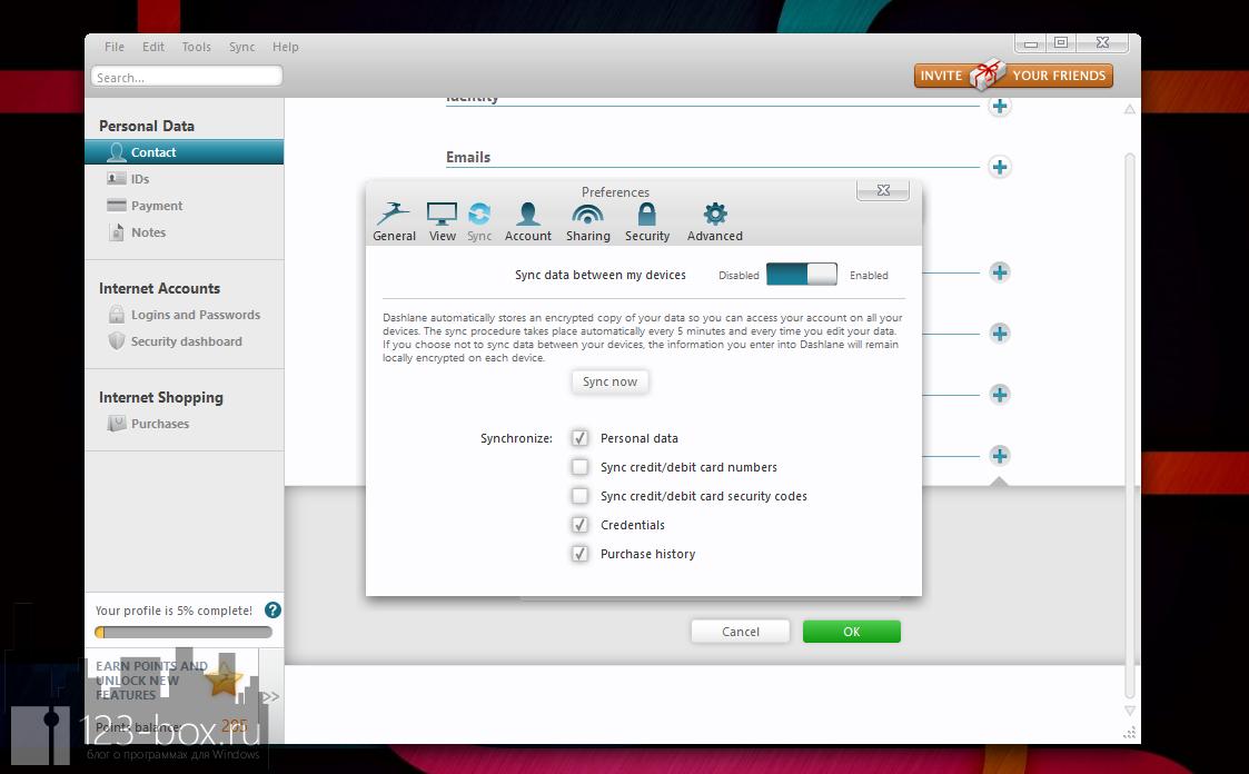 Dashlane - удобный менеджер паролей с автозаполнением (2)