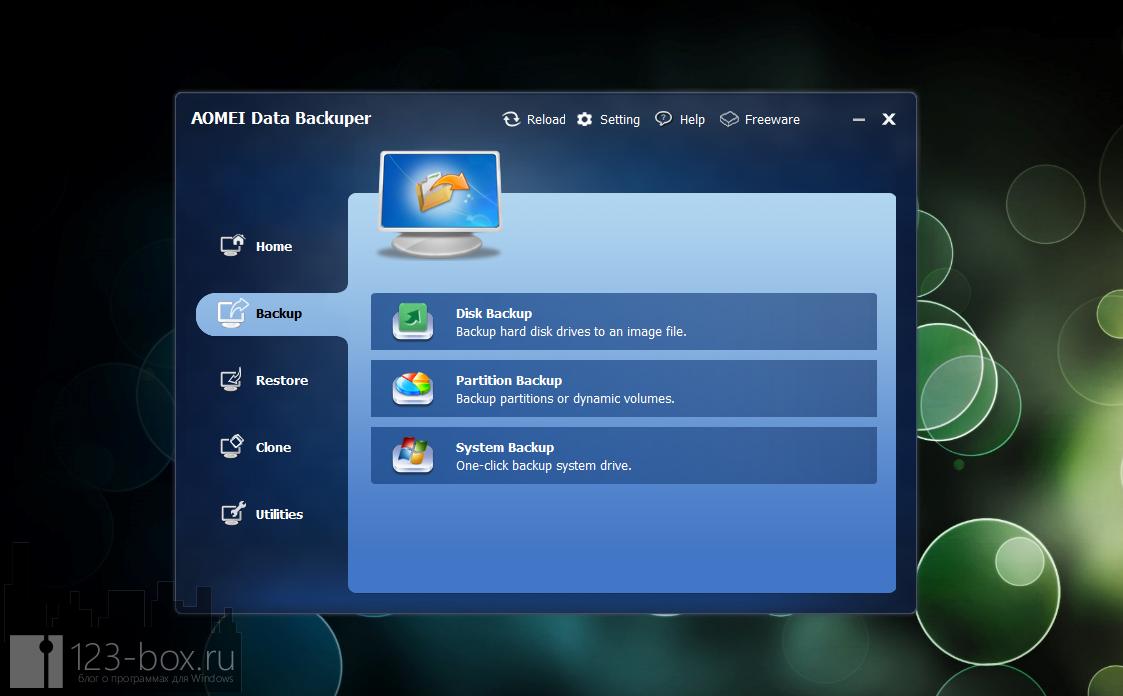 AOMEI Data Backuper - удобная программа для создания бэкапа и образов диска или раздела (4)