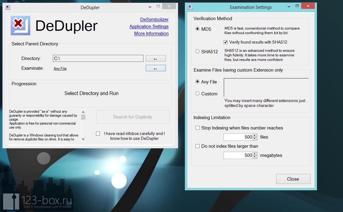 DeDupler - портабельная программа для поиска дубликатов файлов (3)