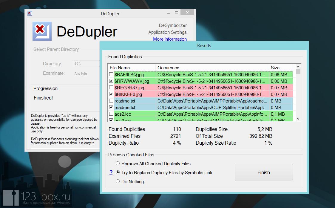 DeDupler - портабельная программа для поиска дубликатов файлов (1)