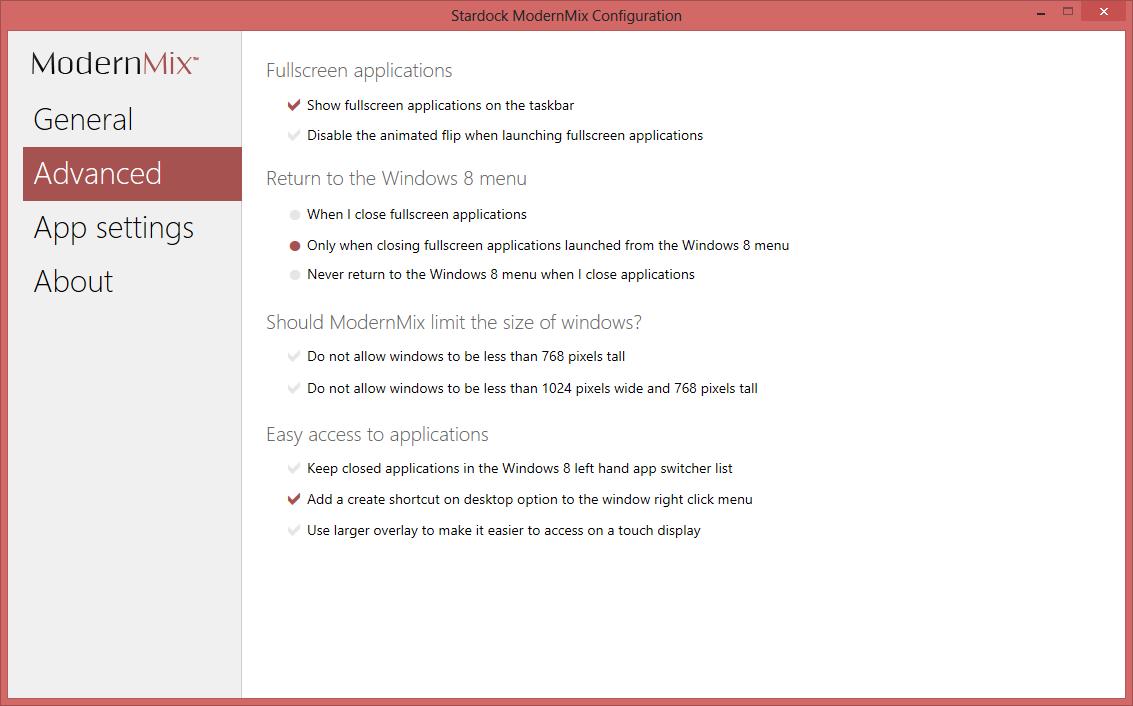ModernMix - программа, позволяющая открывать Modern UI приложения на рабочем столе как обычные, в оконном режиме (4)