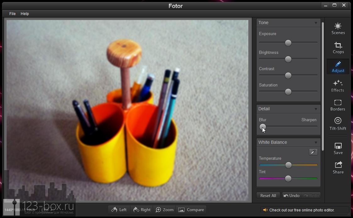 Fotor for Windows - простой, стильный редактор для добавления к снимкам модных фотоэффектов (6)