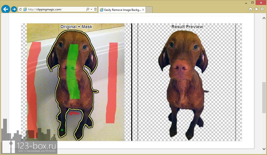 ClippingMagic.com - онлайновый сервис для точного обрезания объектов на изображениях (5)