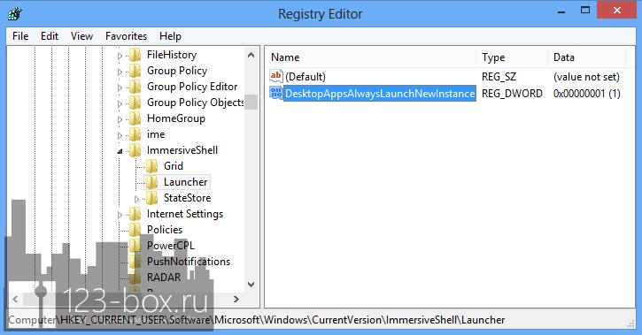 Как открывать новый экземпляр приложения при клике по плитке на начальном экране Windows 8 (2)