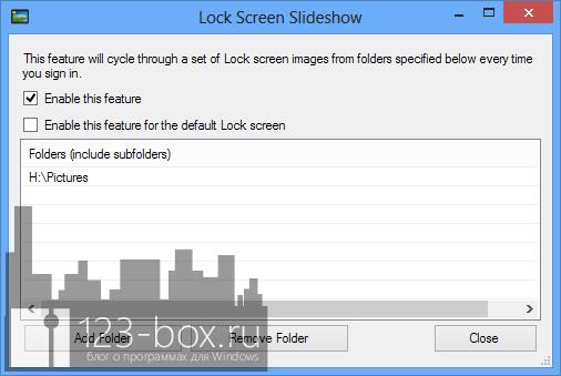 Lock Screen Customizer - утилита, превращающая экран блокировки в слайдшоу (1)