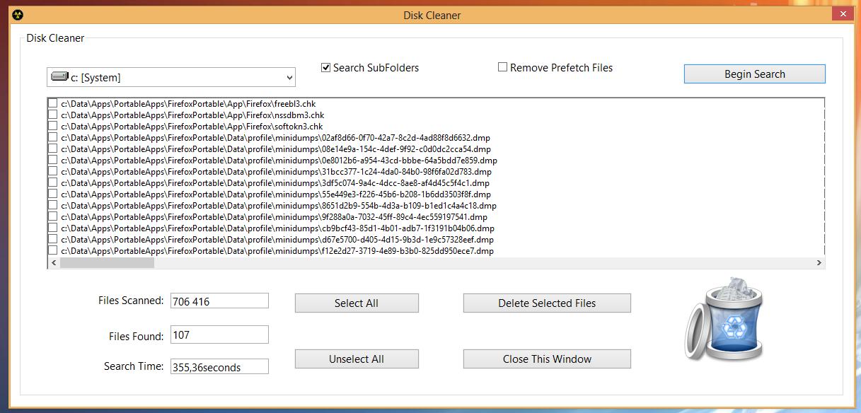 8Smoker Pro - универсальная утилита для настройки параметров Windows 8, оптимизации, мониторинга и поддержания работоспособности (9)