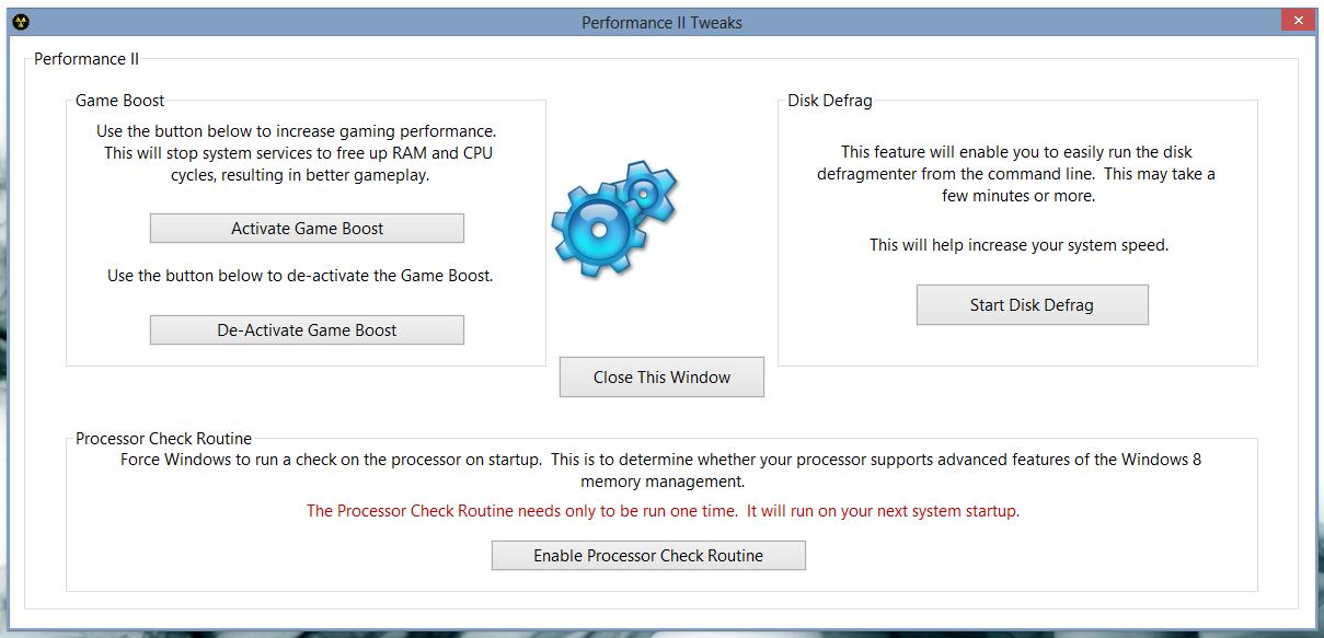 8Smoker Pro - универсальная утилита для настройки параметров Windows 8, оптимизации, мониторинга и поддержания работоспособности (1)
