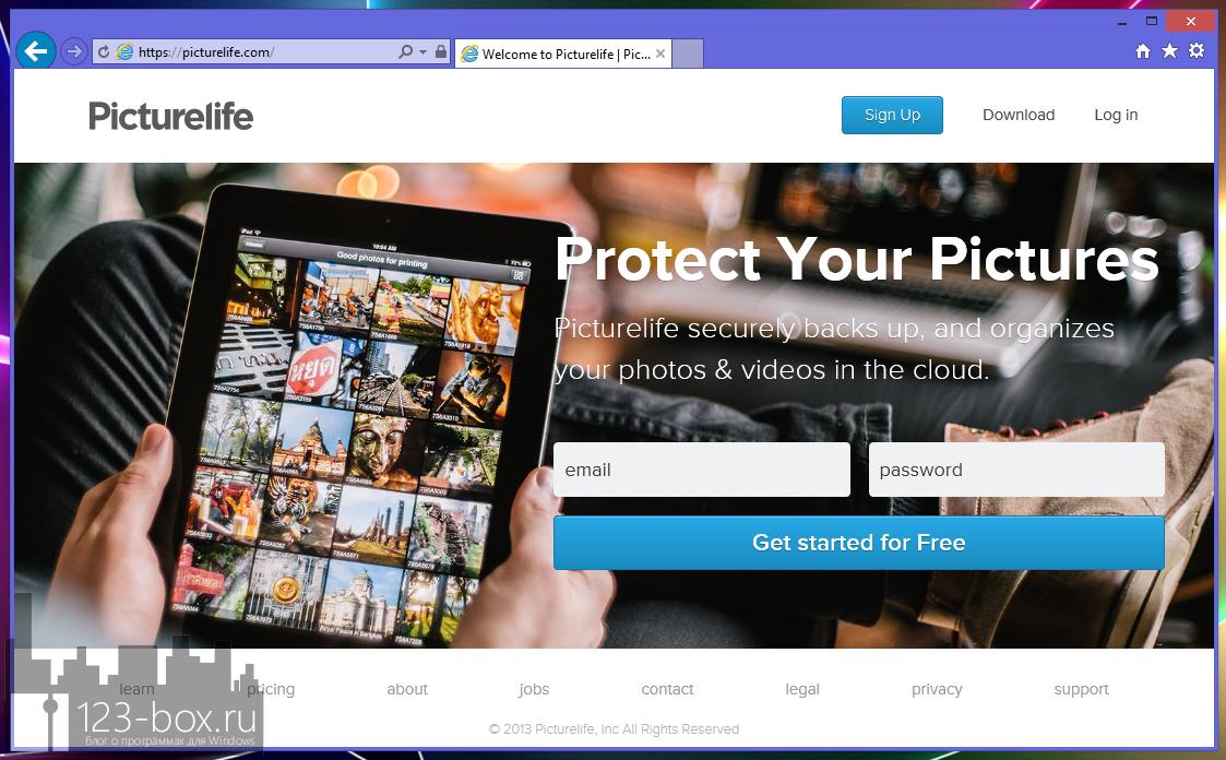 Picturelife - удобный онлайновый сервис для хранения фотографий с возможностями редактирования, синхронизации и отправкой в социальные сети (18)