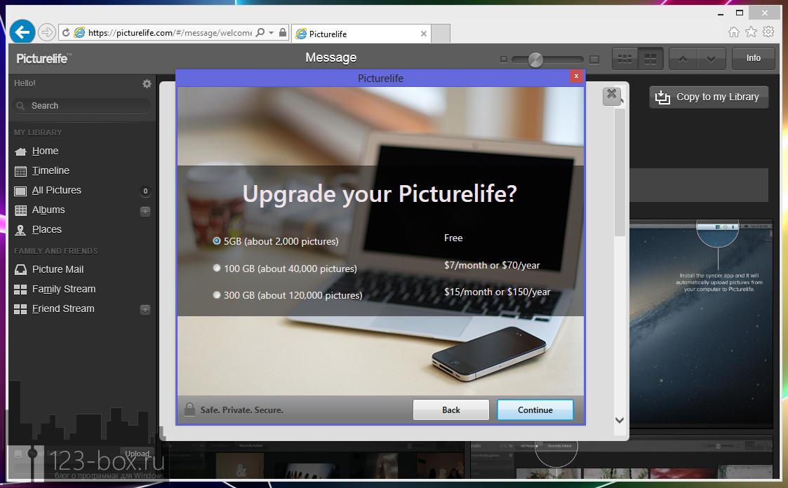 Picturelife - удобный онлайновый сервис для хранения фотографий с возможностями редактирования, синхронизации и отправкой в социальные сети (16)