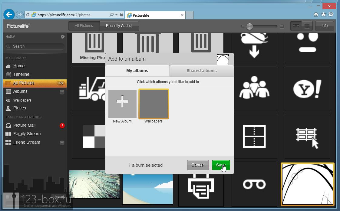 Picturelife - удобный онлайновый сервис для хранения фотографий с возможностями редактирования, синхронизации и отправкой в социальные сети (9)