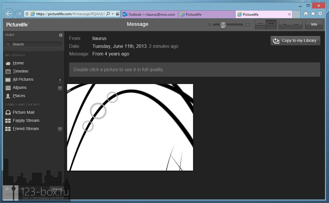 Picturelife - удобный онлайновый сервис для хранения фотографий с возможностями редактирования, синхронизации и отправкой в социальные сети (3)