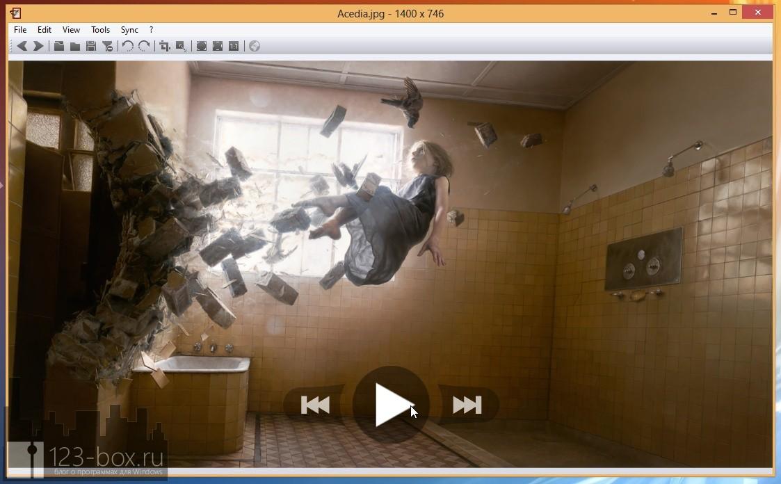 Nomacs - портабельная программа для просмотра изображений с удобным управлением (4)